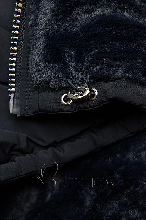 Winterjacke mit Wendemöglichkeit dunkelblau