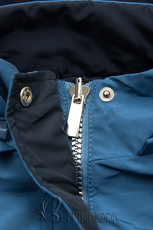 Übergangsjacke blau/dunkelblau