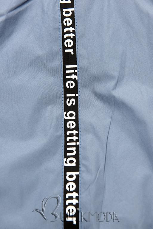 Sportliche Wendejacke graublau