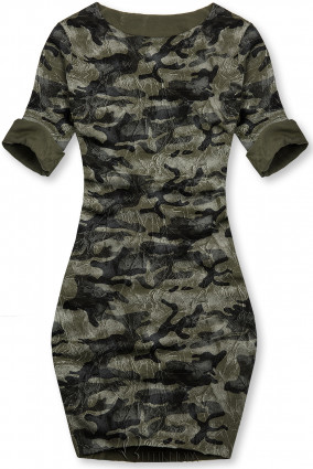 Lässiges Army Kleid khaki