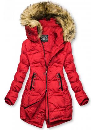 Gesteppte Jacke für Herbst/Winter rot
