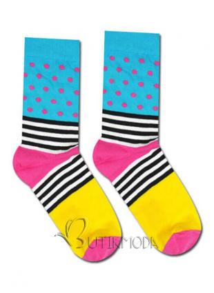 Socken Streifen und Dots